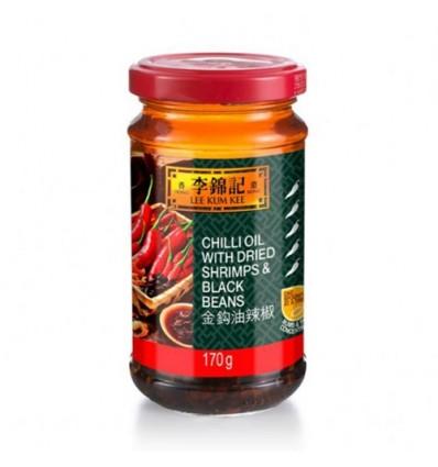 李锦记金钩油辣椒 170g Chili oil