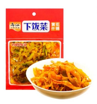 乌江下饭菜(袋装)黄花什锦 120g Preserved Beans