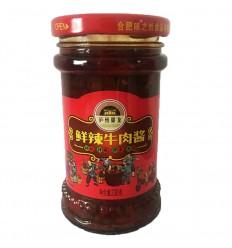 泸州御龙鲜辣牛肉酱230G Spicy Beef