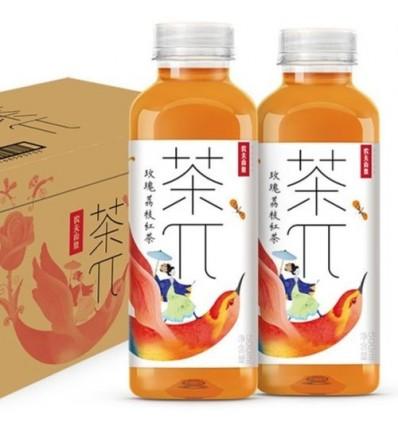 农夫山泉茶派(玫瑰荔枝红茶)Rose litchi black tea 500ml