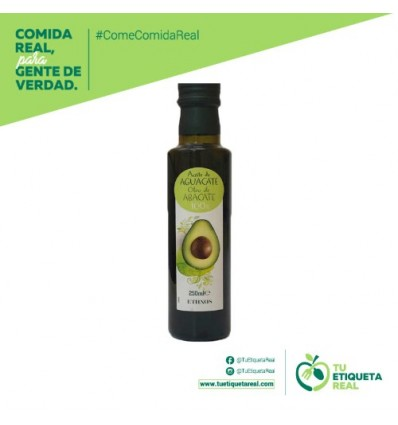Ethnos牌牛油果油 ACEITE DE AGUCATE 250ML