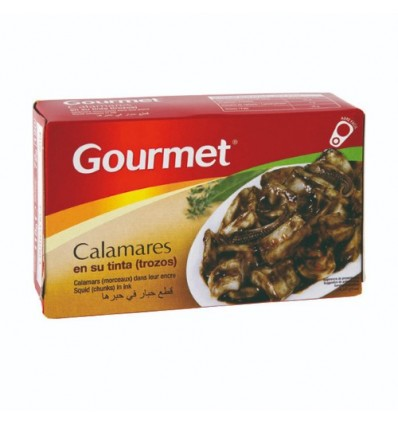 Gourmet 墨汁鱿鱼块 72G