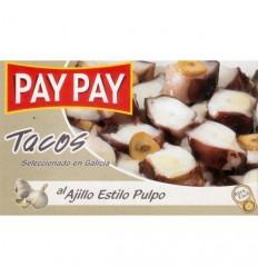 PAY-PAY葵花油浸章鱼块Tacos pulpo 72G