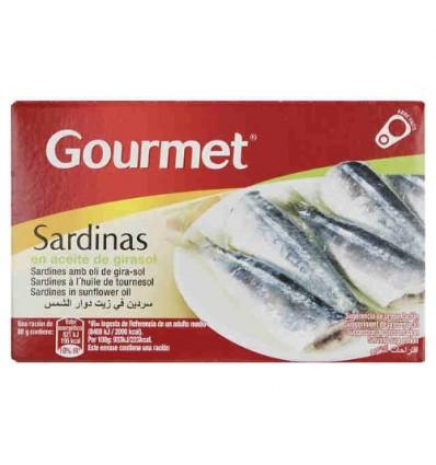 Gourmet葵花油浸沙丁鱼罐头Sartina 88G