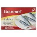 Gourmet葵花油浸沙丁鱼罐头 88g Sartina en aceite de girasol