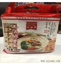 麦老大上汤排骨面 Pork Ribs Noodle Soup 780G