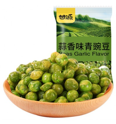 甘源蒜香味青豌豆 Garlic-scented green peas 75g