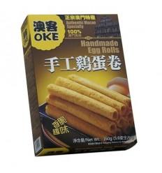 台湾澳客榴莲蛋卷Durian egg rolls 300g