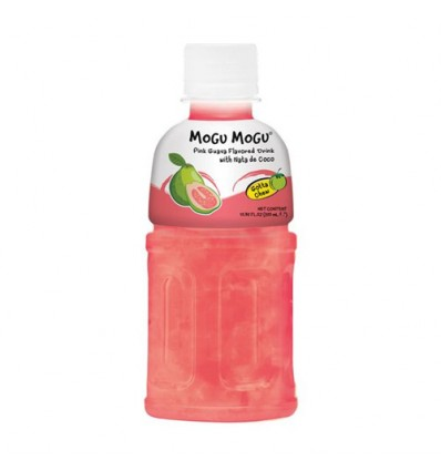 MOGUMOGU 饮料*番石榴味 320ML Pineapple flavored drink
