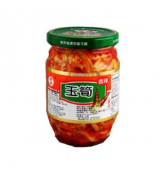 华南香辣玉笋340G Spicy Jade Bamboo Shoots