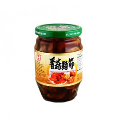 华南香菇面筋369G Mushroom Gluten