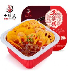 小龙坎方便火锅*素菜牛油365G Vegetarian Vegetable Butter Convenient Hotpot