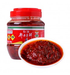 鹃城红油郫县豆瓣酱1.2KG Shexian Red Oil Bean Sauce