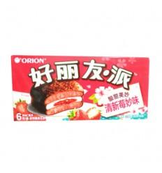 好丽友清新莓妙味210G Cracker