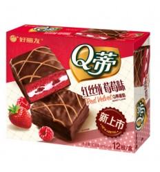 Q蒂丝丝绒*草莓味168G Cracker