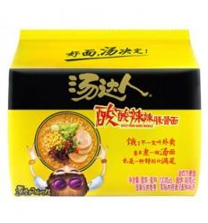 汤达人 *酸酸辣辣豚骨面 135g*5 Hot and sour pork noodles