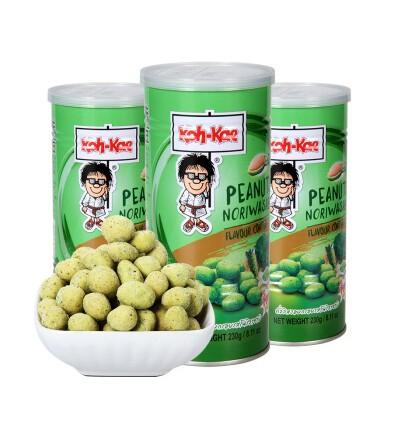 大哥牌 泰国芥末味花生 Koh-Kae coconut peanuts 105g