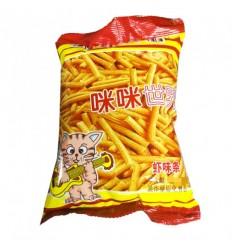 咪咪世界*虾味条 102G Mimi World* Shrimp Flavor Bar 102G