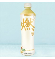 燃茶*无糖玄米乌龙茶 500ML Burning Tea* Sugar-Free Black Rice Oolong Tea 500ML