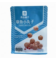 良品铺子*章鱼小丸子 62G Good product shop* small octopus balls 62G