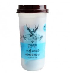 鹿角巷*冷泡茶*黄桃味 180GLujiao Lane*Cold Bubble Tea*Yellow Peach Flavor 180G