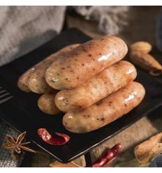 (限寄德法部分地区) 【德国腊味居】台湾烤肠(原味)1包 约500g Grilled Sausages