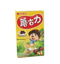 好丽友*蘑古力*牛奶巧克力味 48GHaoliyou*Mushroom Chocolate*Milk Chocolate Flavor 48G