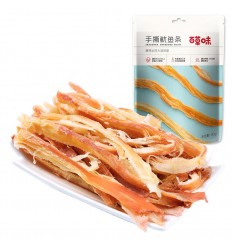 百草味*手撕鱿鱼条 80G Herb-flavored* Shredded Squid Strips 80G