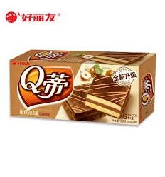 Q蒂*蛋糕*榛子巧克力味 168GQty*cake*hazelnut chocolate flavor 168G