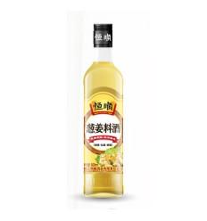 恒顺*葱姜料酒 500ML Hengshun * Scallion Ginger Cooking Wine 500ML