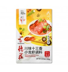 德庄*川味小龙虾调料 180GDezhuang* Sichuan Flavored Crayfish Seasoning 180G