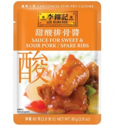 李锦记*甜酸排骨酱 80GLee Kum Kee*Sweet and Sour Spare Ribs Sauce 80G