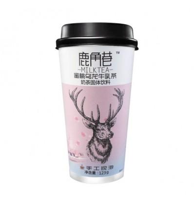鹿角巷*蜜桃乌龙牛乳茶 115GAntler Lane*Peach Oolong Milk Tea 115G