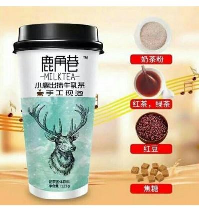 鹿角巷*小鹿初抹牛乳茶 115GLujiaoxiang*Fawn first match milk tea 115G