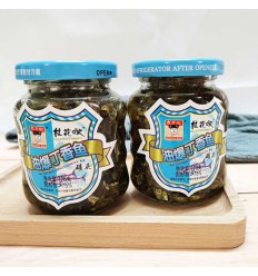 桂花嫂*油爆丁香鱼(蓝) 170GOsmanthus Sister-in-law* Fried clove fish (blue) 170G