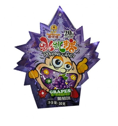 欧比旺*跳跳糖*葡萄味 30GObi-Wan*Popping Candy*Grape Flavor 30G