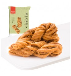 良品铺子*香酥大麻花*芝麻甜味 160GBest shop*Crispy hemp flower*Sesame sweetness 160G