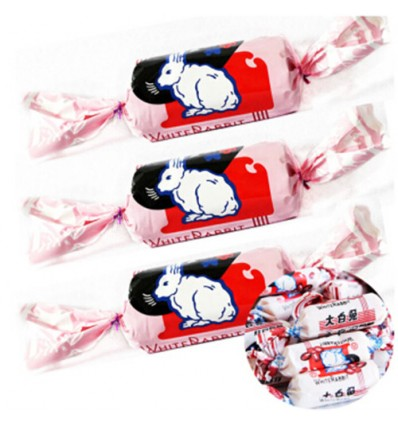 大白兔*奶糖*红豆味 200GWhite Rabbit*Milk Candy*Red Bean Flavor 200G