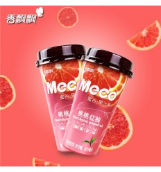 香飘飘*MECO果汁茶*桃桃红柚味 400MLFragrant Piaopiao*MECO Juice Tea*Peach Peach Red Pomelo 400ML