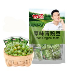 甘源(原味)青豌豆 Garlic-scented green peas 285g