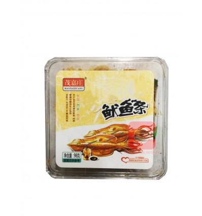 茂嘉庄*炭烤鱿鱼丝 80gMaojiazhuang* Charcoal Grilled Squid Shredded 80g