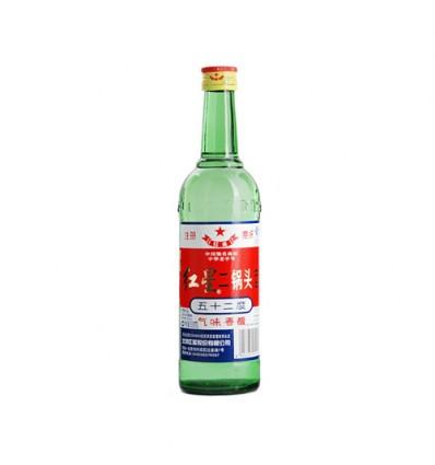 (大瓶)红星*二锅头酒 500ml White Wine 100ml