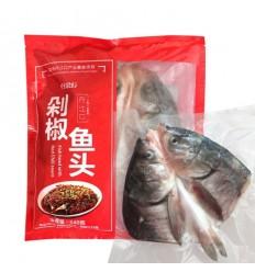 (限寄德法) 好余轩 湖北丹江口白鲢鱼 剁椒鱼头 640g Chopped Pepper Fish Head