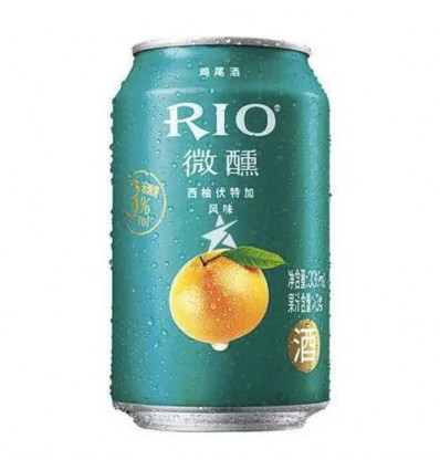 Rio微醺*西柚伏特加鸡尾酒 330ml Cocktail