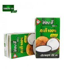 泰国AROY-D椰浆/椰奶(盒装)250ml Coco concentramento