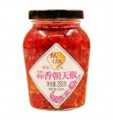 坛坛乡*蒜香朝天椒 280g Red preserved chili