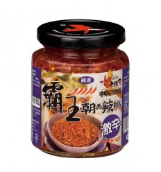 老骡子*霸王朝天椒*激辛 240G Green preserved chili