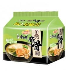 (5连包)康师傅*日式豚骨面5包装 420g Hot and sour pork noodles