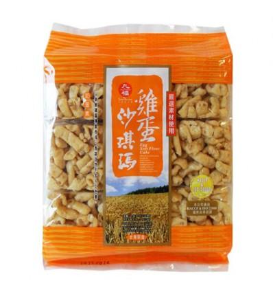台湾九福鸡蛋沙琪玛 Shaqima Cracker 227g