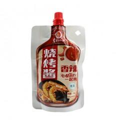 草原红太阳*烧烤酱*香辣味 110G BBQ Sauce 110G